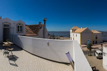 Lisbon 15 mt by car Alcochete 2Rooms Terrace - Alcochete - Appartement