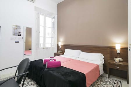 2bedded room breakfast center+wifi4 - Pension