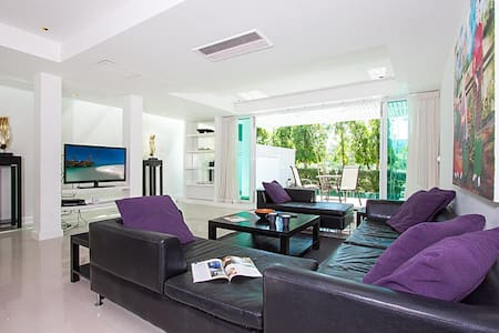 Golf villa 4 bed for 8 persons, pool, near Patong - Mueang Phuket - Hus
