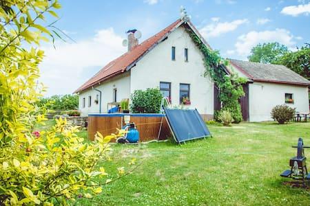 Rural Attic Apartment Na Kacinach - Bystřice