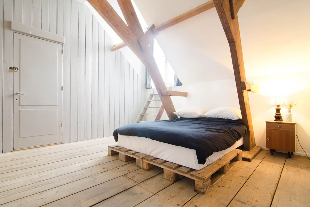 Cozy attic in city centre FreeWIFI