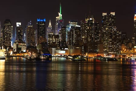 NYC,10 minutes away! 2 Bedrooms