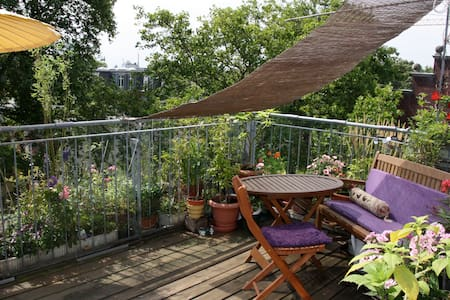 Great Duplex, open view,big terrace - Düsseldorf - Loft