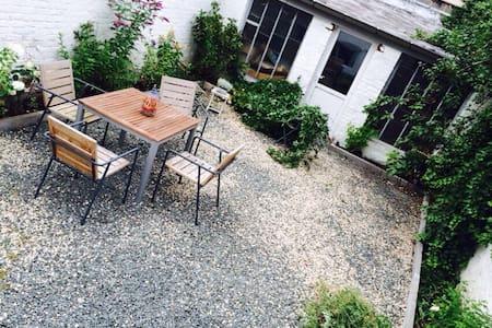 Appt loft style EU with garden - Ixelles
