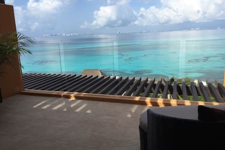 Luxury condo, ocean view, terrace - Isla Mujeres