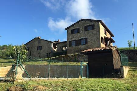 Maison de famille avec piscine près de Lyon - Vaugneray - Hus
