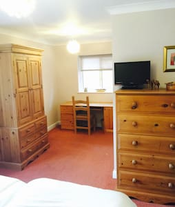 Twin Room + En-Suite + Parking - Brightlingsea - Casa