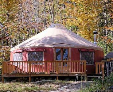 Back Country Yurt near Cardigan Mt. - Orange - Iurta