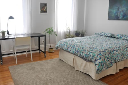 Enjoy Toronto in one of the most fun neighborhoods! Queen West, Trinity Bellwoods Park. Walking distance to Toronto downtown core. Victorian house newly renovated with lots of light. Shopping and recreational park around the corner.