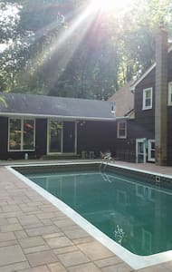 Wilderness home/ Poconos feel. Photo lesson avail. - Marlboro Township - Casa