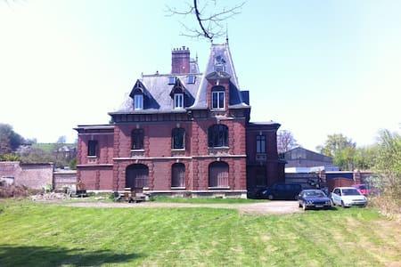 Gîte dans un Château - Gruchet-le-Valasse - Schloss