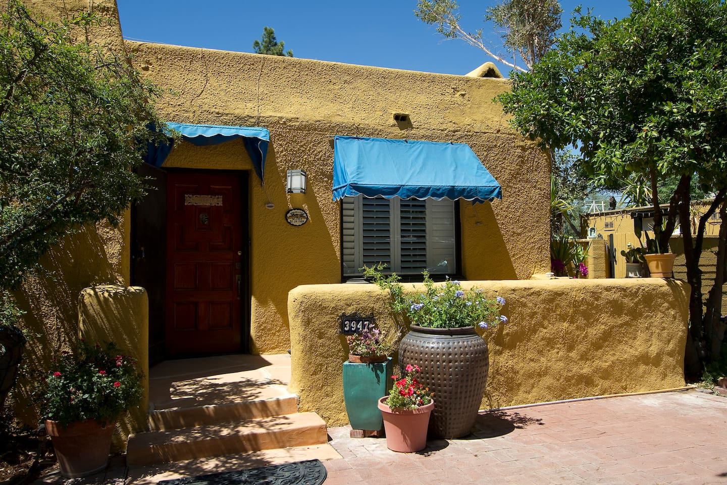 Abode house in central Tucson.