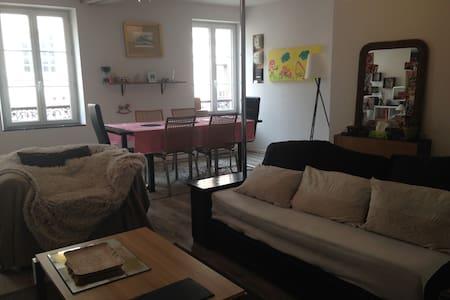 Appartement duplex en centre ville - Huoneisto