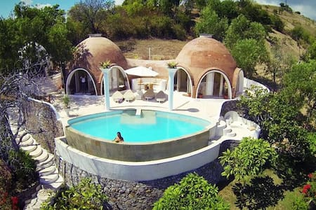 Dome Villa FreeDOME Lombok - Jordhytte