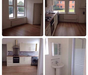 Newly decorated and furnished 2 bed