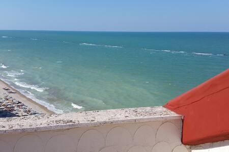 Appartamento panoramico fronte mare a Marotta - Wohnung