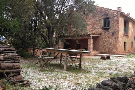 Casa típica de piedra junto a BCN - Casa