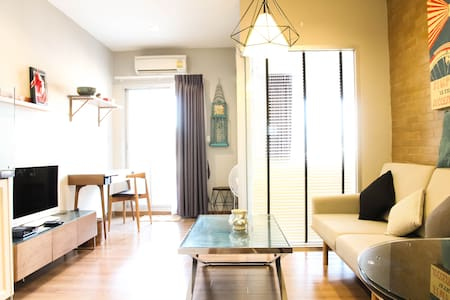 @Siam/BTS/MBK/FREE Airport pick up - Appartement