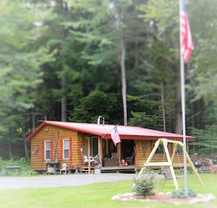 Perfect Romantic ADK Cabin Getaway! - Northville - Cabin