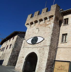 In the Walls of a Castle in Umbria
