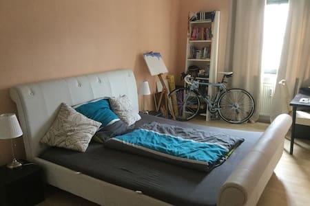 Wohnen im Grünen- trotz zentraler Lage in Freising - Apartmen