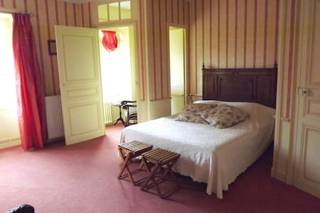 """Suite """"Coquillages"""" au château - Bed & Breakfast"""