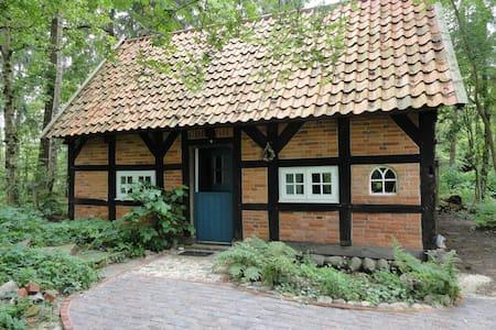 Gemütliches kleines Fachwerkhaus - Rumah