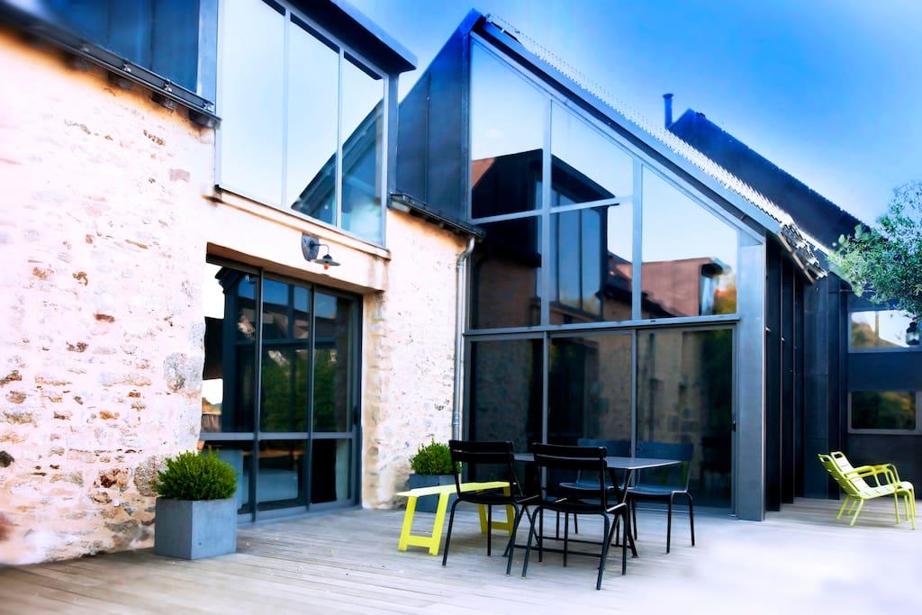 Maison contemporaine nantes houses for rent in orvault - Maison contemporaine nantes ...