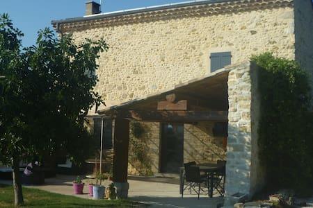 Chambre privée pour 2 personnes - Bonlieu-sur-Roubion
