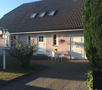 Fin villa med stor trädgård i Visby - Visby