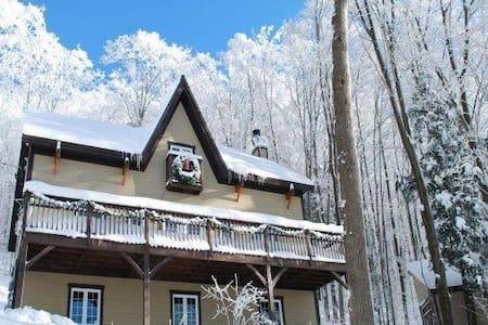 "Chaleureuse maison ""timberframe"" en montagne - House"