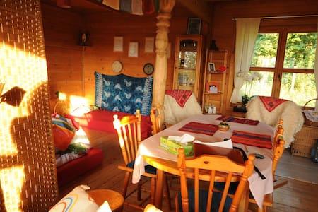 Pokój w drewnianym domu Kaszuby ❤ - Haus