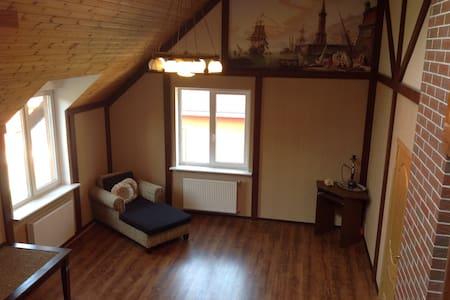 Комната в особняке, Room in a house - Hus