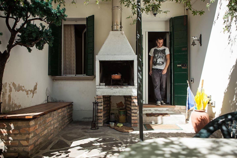 Entrata Venice Little Home (attenti al gatto!... PEPI)