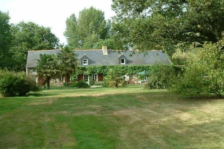 Charming French Farm House : DOGS Welcome  - LA CHAPELLE LAUNAY  - Hus