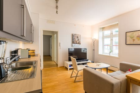 Nice 2BR apt. in the city center of Bergen! - Bergen - Apartment