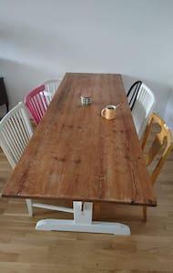 Airy apartment close to city center - Stockholm - Appartement