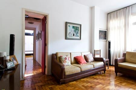 Pequeno quarto nas Olimpíadas em COPACABANA - Rio de Janeiro - Appartamento