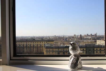 Spacious Studio+panoramic view in the Central Area - Sankt-Peterburg - Byt