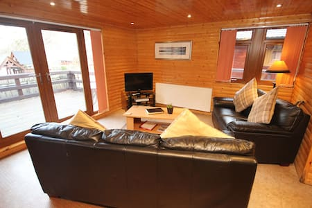 Loch Lomond Hot Tub Lodge - Ardlui