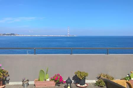 Panoramicissimo appartamento a Cannitello (RC) - Wohnung