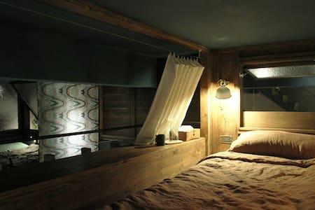 MIAOKO hostel : Loft bedroom in 6 Bed Mixed Dorm - Xincheng Township