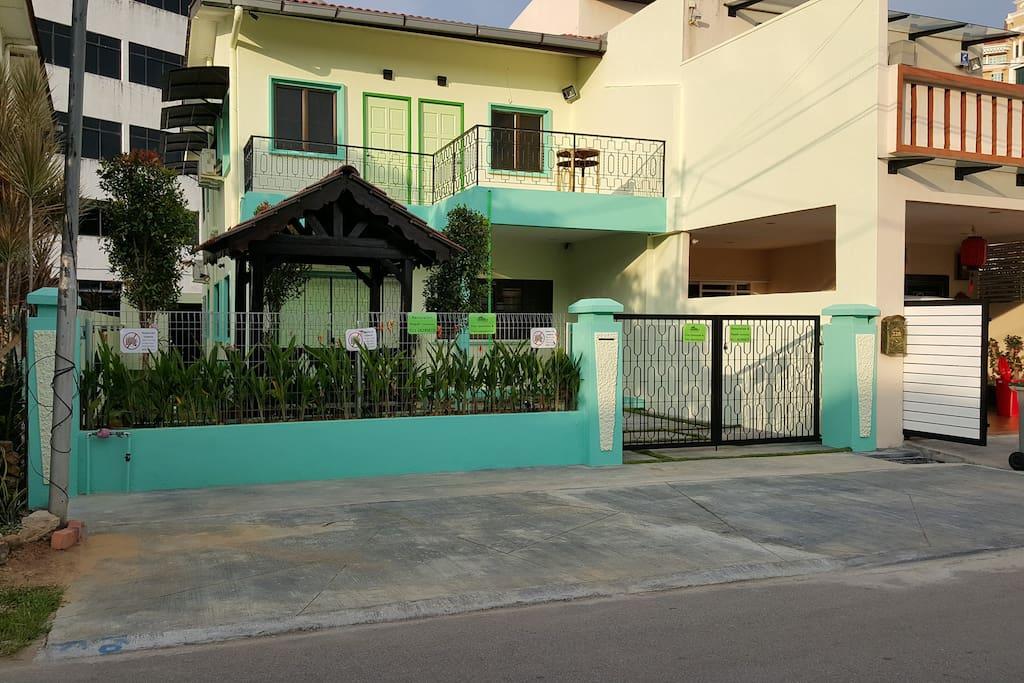 Main View @ Hijauhijau Holiday Home