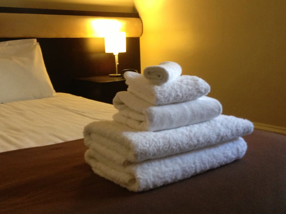 Linen & Towels provided