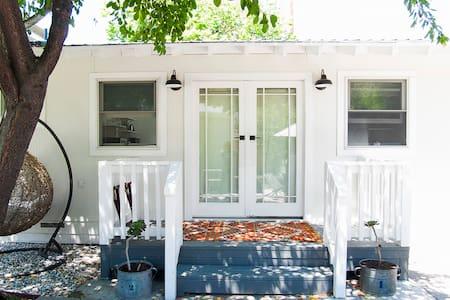 Sugarcube: Cozy Palo Alto studio cottage - Palo Alto - Hus