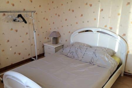 Chambre calme à deux pas du bugey - Hières-sur-Amby