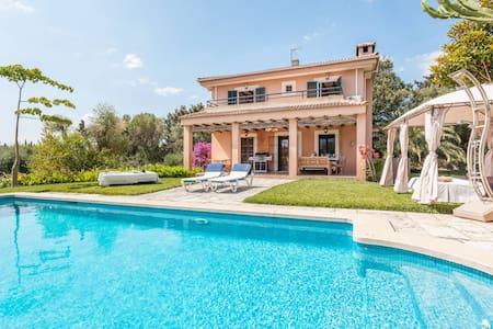 3. Finca-Zimmer + Bad, Pool, Garten... - Muro - Casa