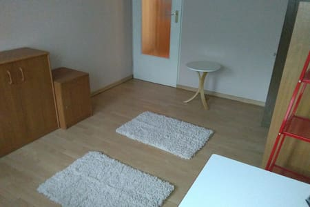 Close to airport, nice room for two - Kraków - Apartemen