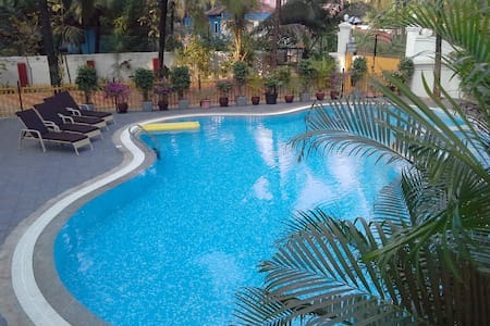 1BHK Nuclear Family Apartment 5 minutes to Beach - Apartment