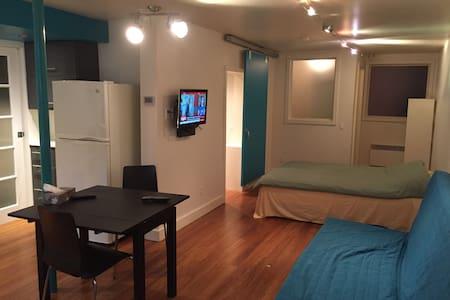Garçonnière Métro Rosemont - Montréal - Apartment